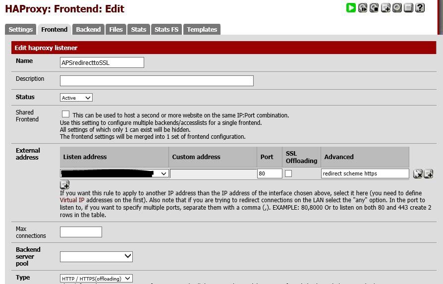 Bug 6484 Pfsense 2311 Does Not Accept Haproxy Advanced