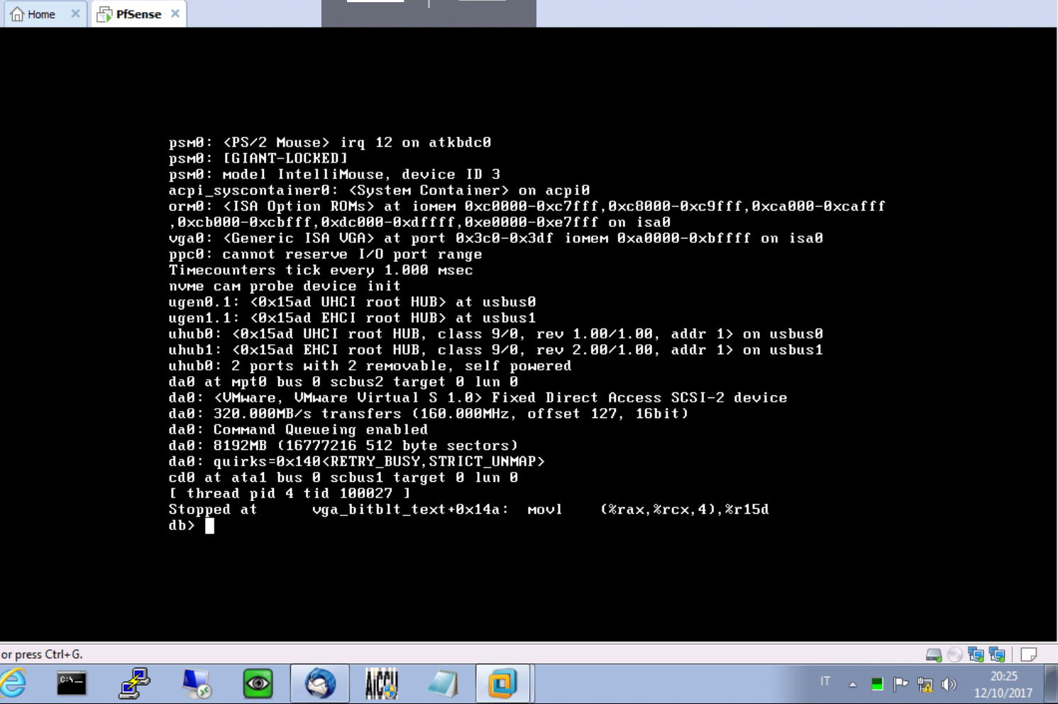 Bug #7925: VT race condition panic at boot on ESXi 6 5 0U1 and